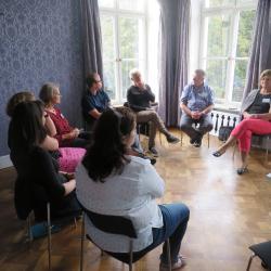 Workshop Finanzierungsmöglichkeiten im Gruppenraum 1