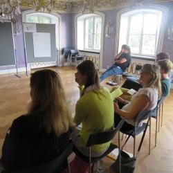Workshop Beziehungsgestaltung im Blauen Kabinett