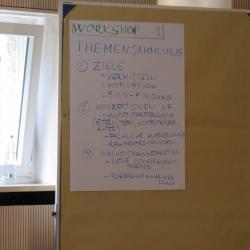 Workshop Teilhabe und Alltagsgestaltung